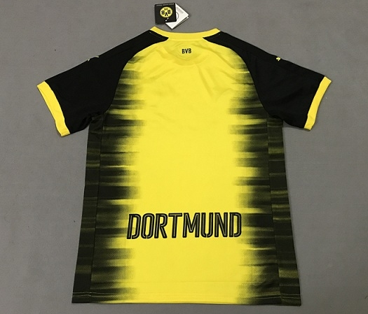 Borussia Dortmund 2017-18 Champions League Shirt Yellow