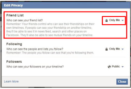 How Do You Hide Your Friends List On Facebook - Jason-Queally