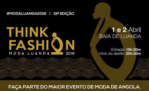"""Nomeados para o """"Moda Luanda 2016"""""""
