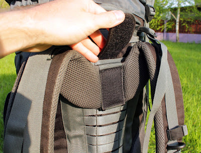 Липучка для регулировки лямок рюкзака