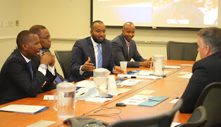 JOHO held a Round table Meeting with a multi-agency team convened by Nabeela Barbari, a Senior Advisor within the US Department of Homeland Security (DHS) Office for Civil Rights and Civil Liberties (CRCL). PHOTO | Courtesy