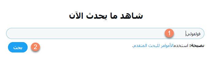 طريقة البحث على موقع تويتر Twitter بدون حساب