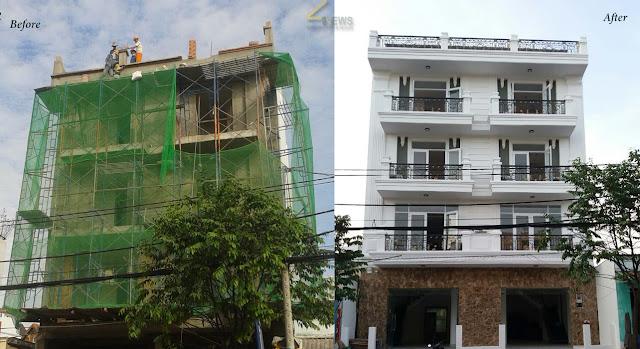 đơn giá xây dựng phần thô nhà phố