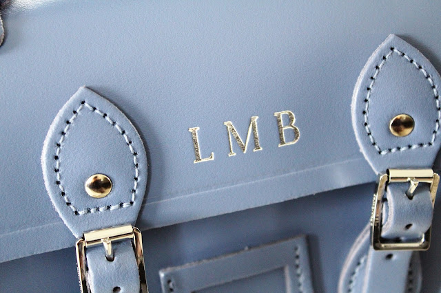 the cambridge satchel company embossing