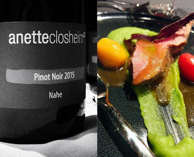 Pinot noir vom Weingut Closheim