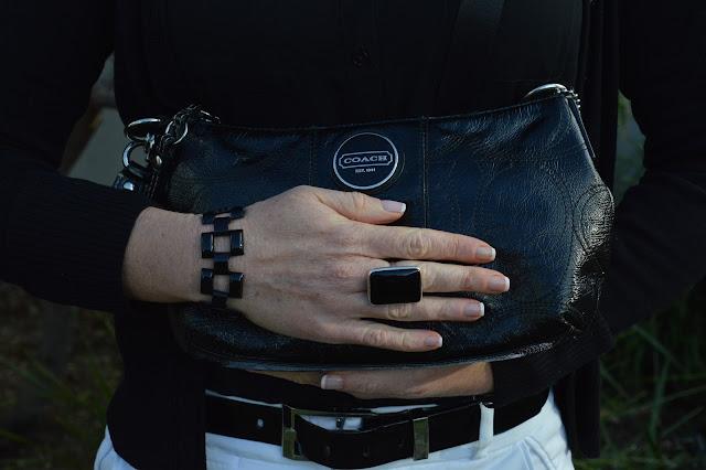 Sydney Fashion Hunter #44 - Back In Black - Coach Bag