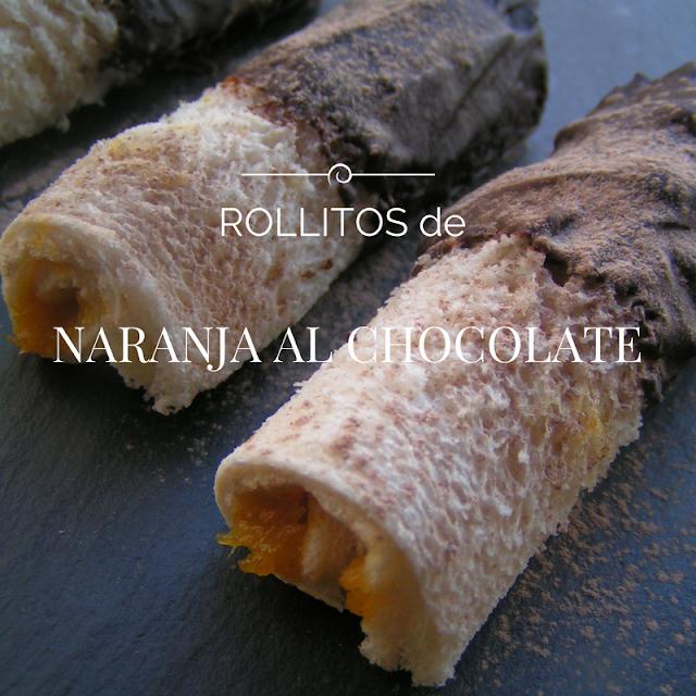 Rollitos de naranja al chocolate - Morrico Fino
