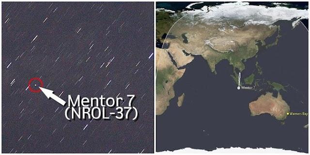Satelit mata-mata Amerika Serikat terdeteksi di atas Indonesia
