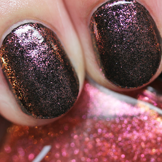 Louise Lacquer Hot Toddy over Lucky