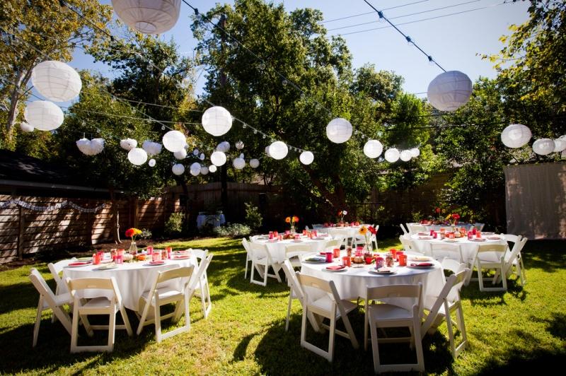 Planning a Backyard Wedding on a Budget   wedding planning