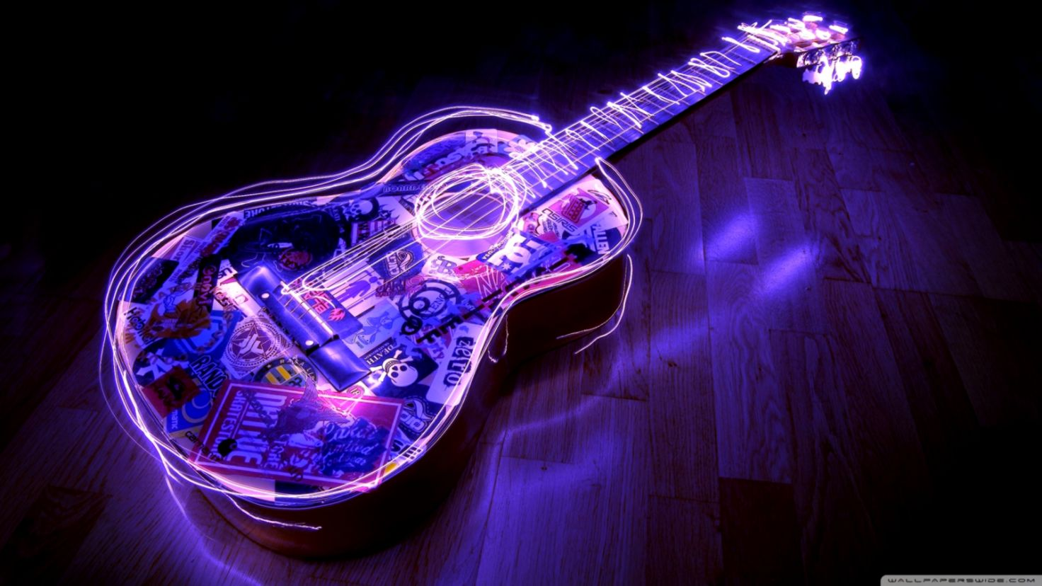 Guitar Art Hd Wallpaper Wallpapers Gallery