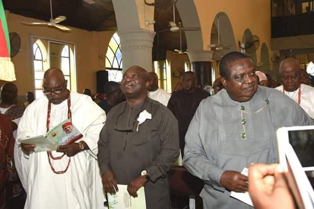 Dignitaries attend former Aviation minister Osita Chidoka father's 90th birthday celebration (photos)