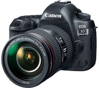 Kamera DSLR Terbaik Canon EOS 5D Mark IV