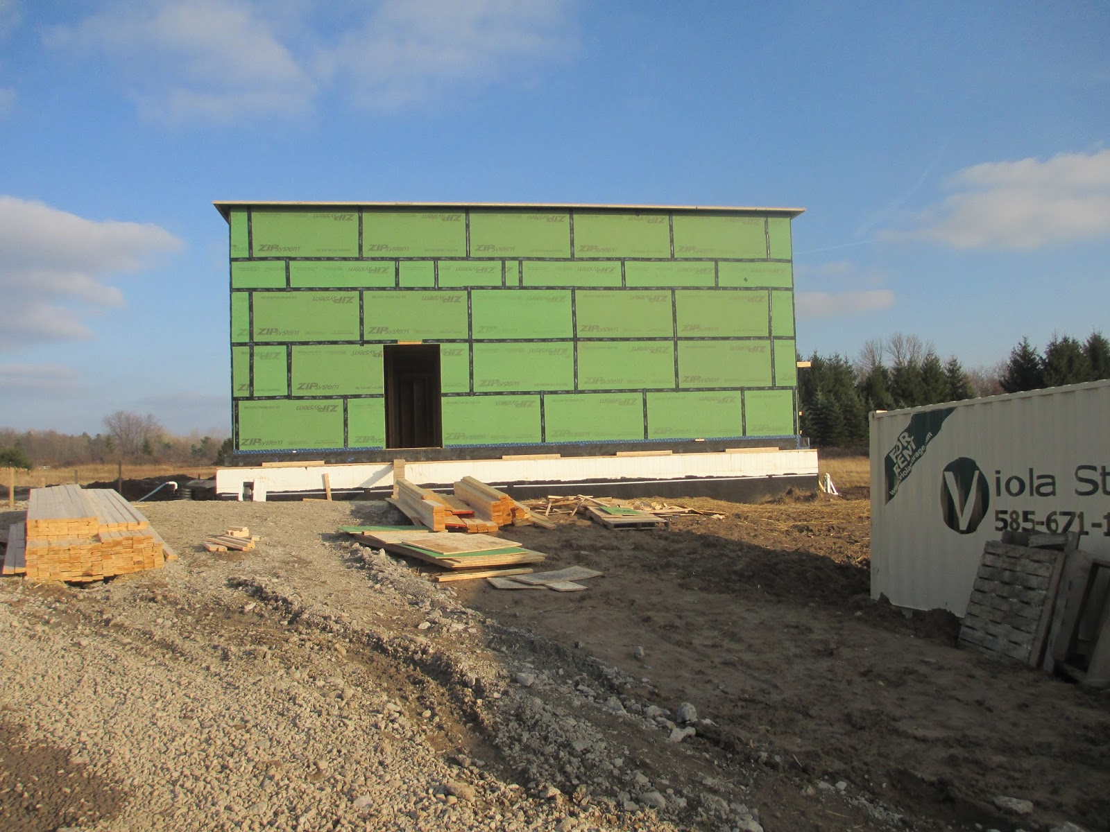 Rochester Passive House Wall Assembly 1