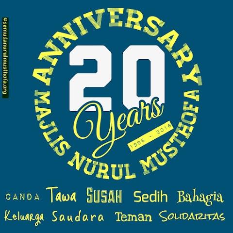 Anniversary nurul musthofa 20th