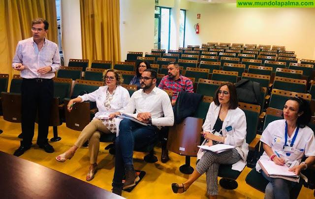 El Área de Salud de La Palma se implica en el borrador del Plan de Salud de Canarias 2019-2024