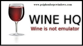 Psiphon for Linux using Wine