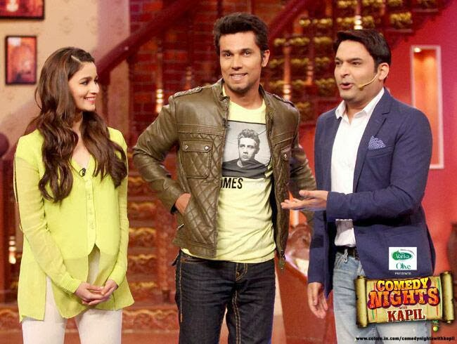 Highway team on Comedy Nights With Kapil