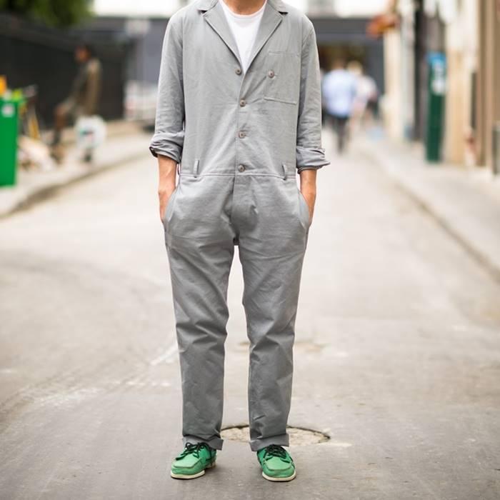 Macacão masculino está se tornando tendência para 2018