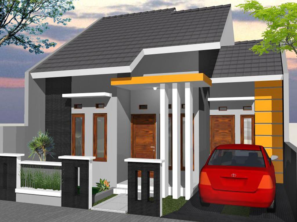 73 Desain Rumah Minimalis Tampak Depan 1 Lantai Bergaya Modern