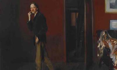 Robert Louis Stevenson et sa femme -  John Singer Sargent -1885