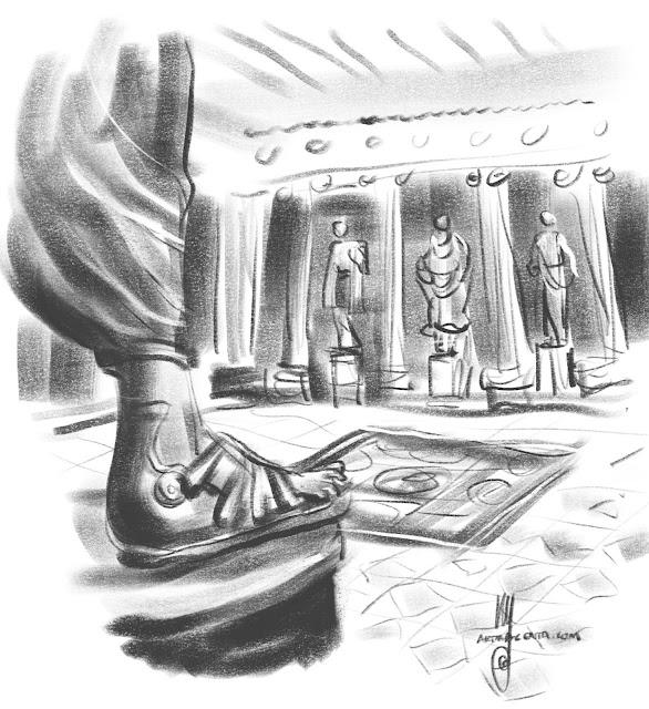 Glyptoteket Cph, Sketch by Artmagenta