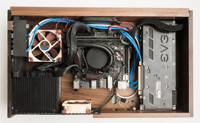 The Volta V is not a piece of furniture for the TV, it is a gaming PC armed to the teeth