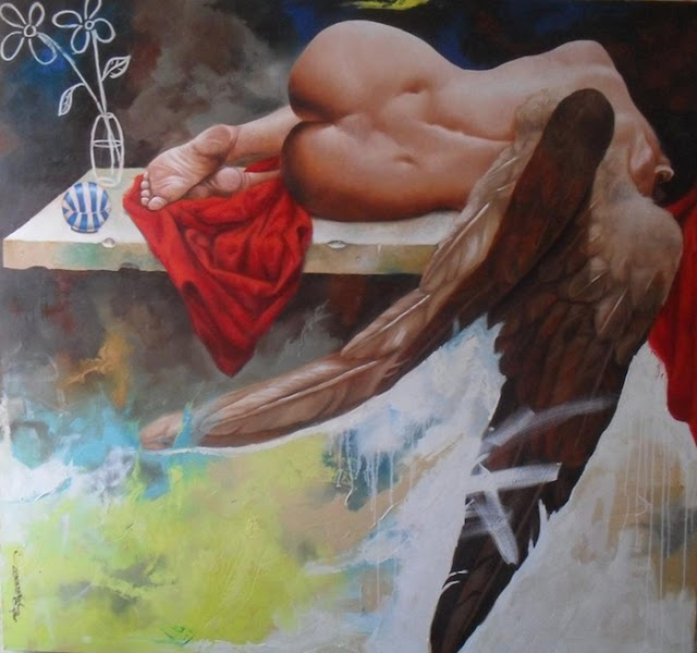 Alex Stevenson Diaz   Colombian Hyperrealist painter