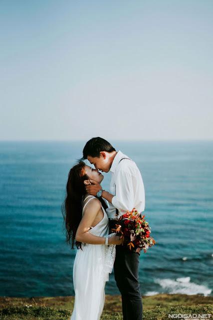 Chiêm ngưỡng bộ ảnh cưới thơ mộng trên đảo Lý Sơn - Hình 4