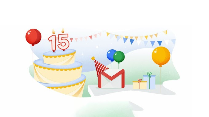 Gmail Celebrated its 15th Birthday