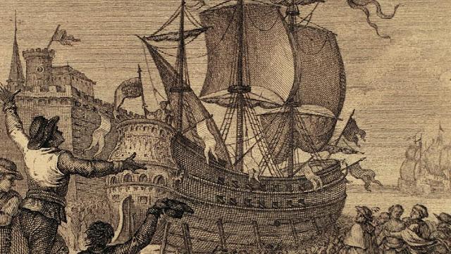 Batalla de Cartagena (Murcia) en 1643.