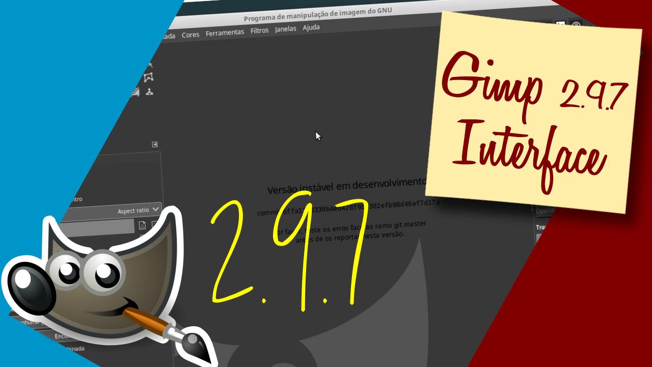 Imagem de capa do post: Gimp 2.0.7 - Uma olhada na interface