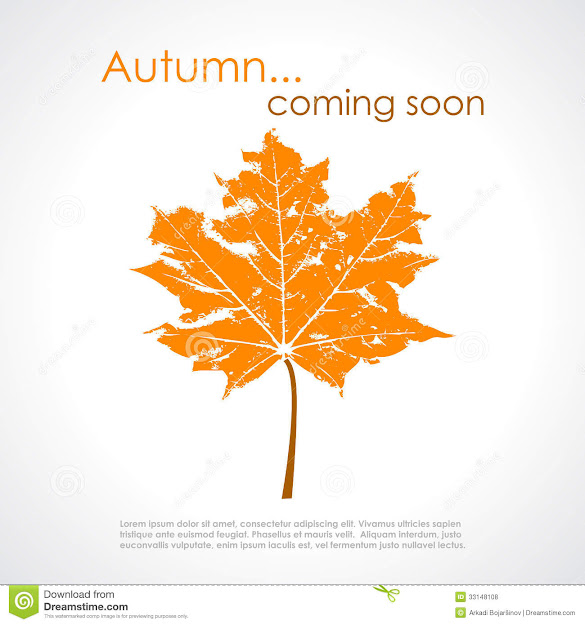 Autumn Vector Poster