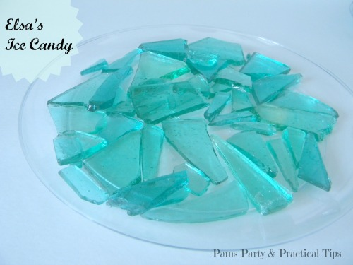 Elsa's Ice Candy for #Frozen #Party