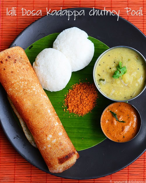 Indian Food Idli Podi
