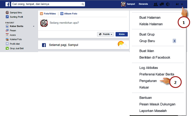 Cara Mudah Mengubah Pengaturan Bahasa Di Facebook