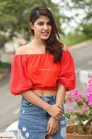 Rhea Chakraborty in Red Crop Top and Denim Shorts Spicy Pics ~  Exclusive 096.JPG