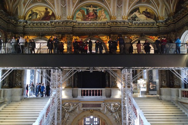 vienne khm kunsthistorisches museum stairway pont klimt modernisme 2018
