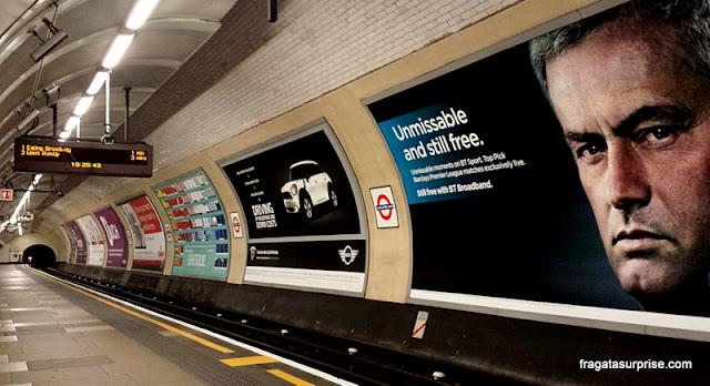 Londres, estação de metrô Lancaster Gate