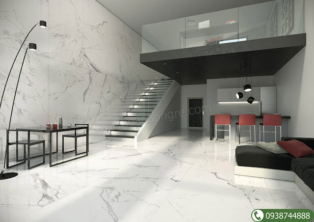 Đá cẩm thạch tự nhiên lát sàn nhà