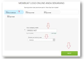 Situs Untuk Membuat Logo Logaster