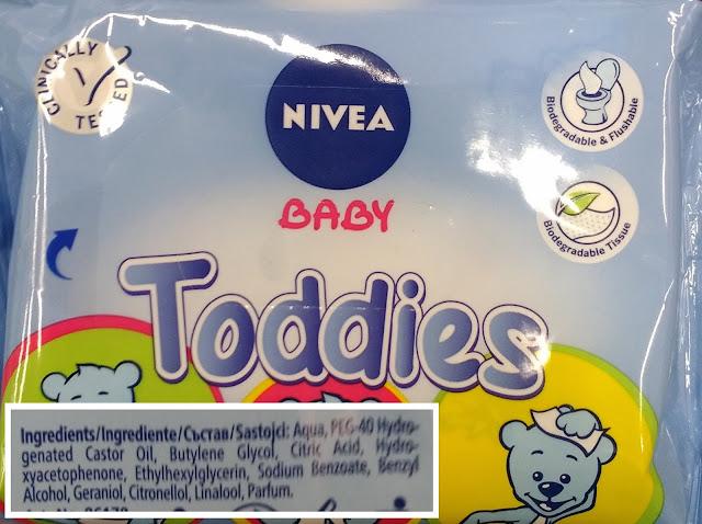 lingettes nivea - unpeuplusgreen