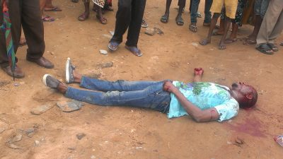 cultist stoned to death benin city edo state