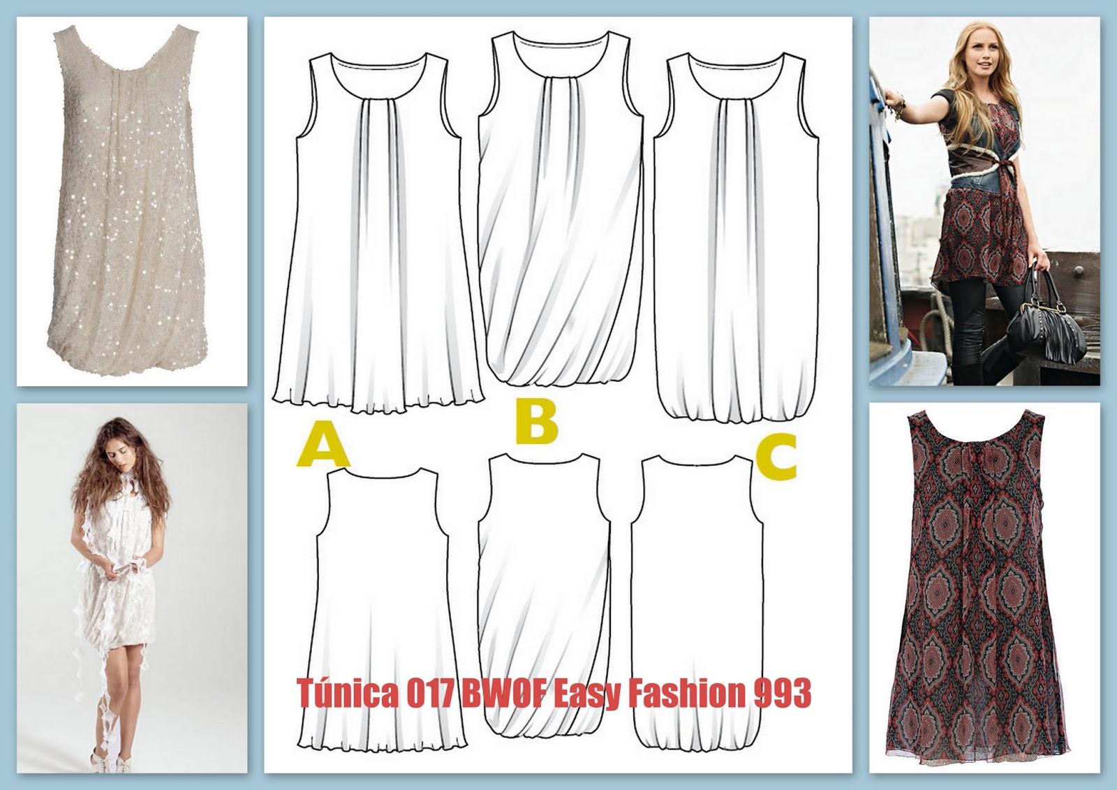 Asombroso El Modelo De Costura Vestido De Túnica Embellecimiento ...