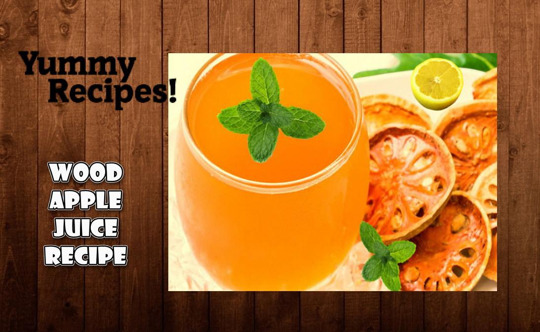 Wood Apple Juice (Squash) Recipe - How to Make Wood Apple Juice