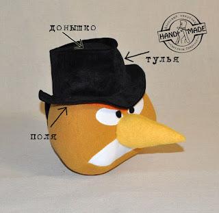 шляпа для Angry Birds