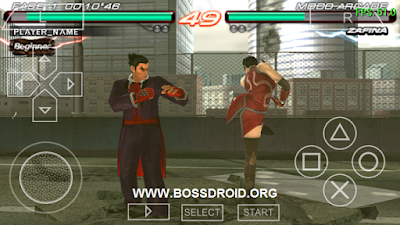 Download Game Tekken untuk PSP PPSSPP Iso Android High Compress