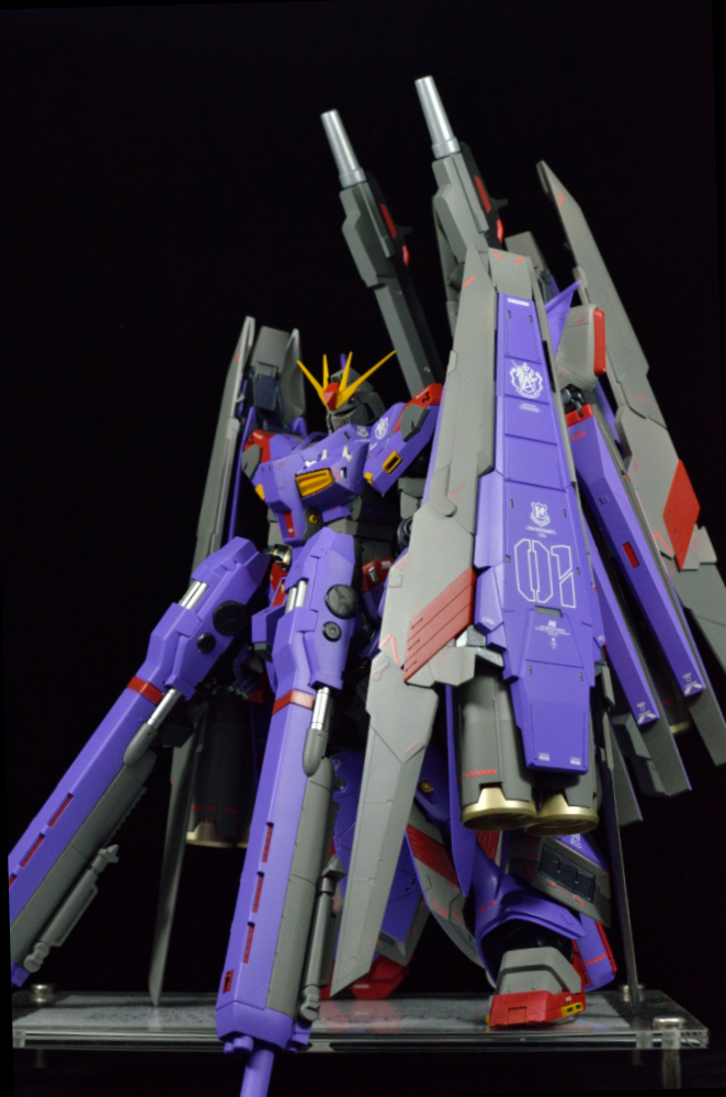 Custom Build: MG 1/100 hi-nu Gundam Ver. Ka + HWS ...