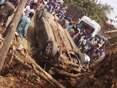 Photos: Pregnant Woman Dies In Fatal Accident At Obadore