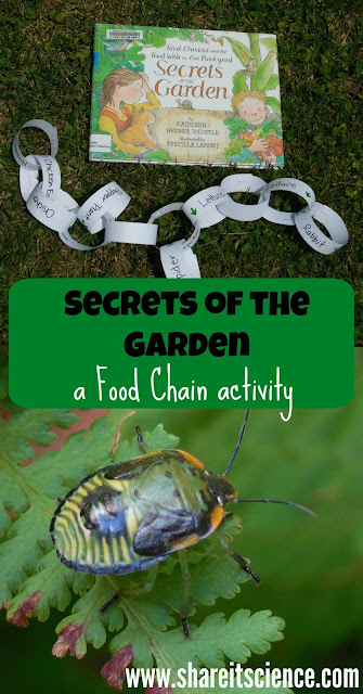http://rainydaymum.co.uk/secrets-garden-food-chain-activity
